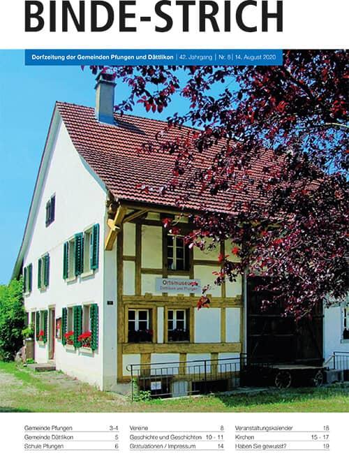 Binde-Strich Dättlikon,  online Reisebüro webook.ch